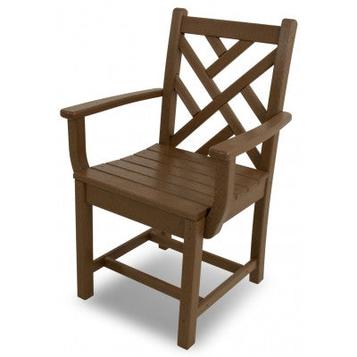 POLYWOOD® Chippendale Dining Arm Chair - Skylar's Home and Patio