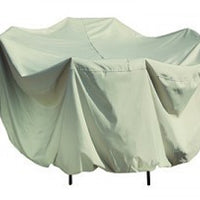 Round Table & Chairs Patio Cover