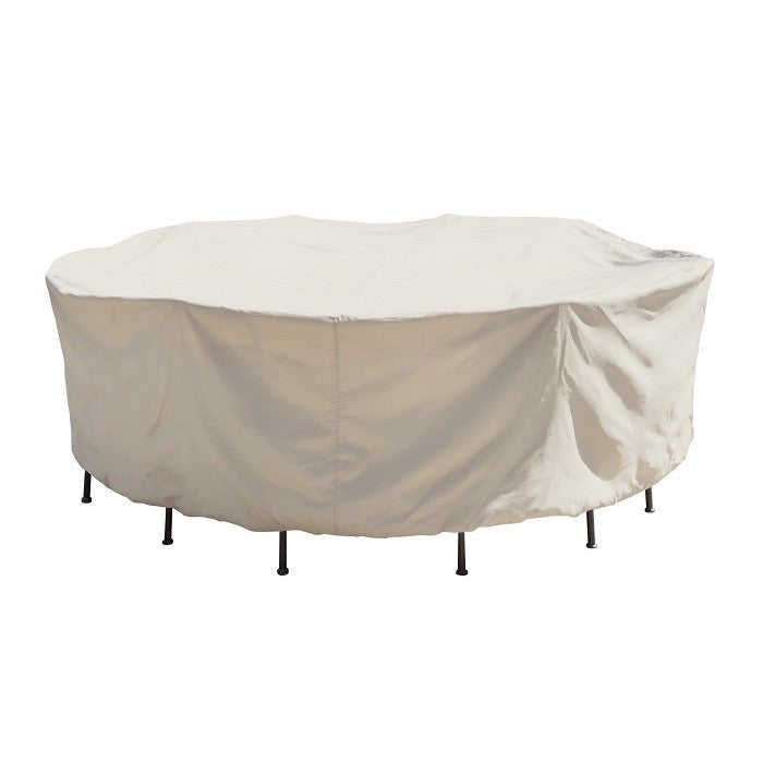 54″ Round Table & Chairs with 6 ties (no center hole) - Protective Furniture Covers - Skylar's Home and Patio