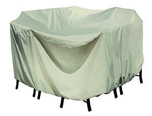 Round Table & Chairs Patio Cover - Skylar's Home and Patio