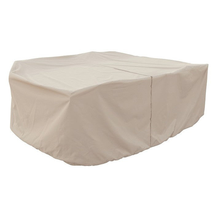 Fits all Medium Oval/Rectangle Table & Chairs w/8 ties & velcro closure - Protective Furniture Covers
