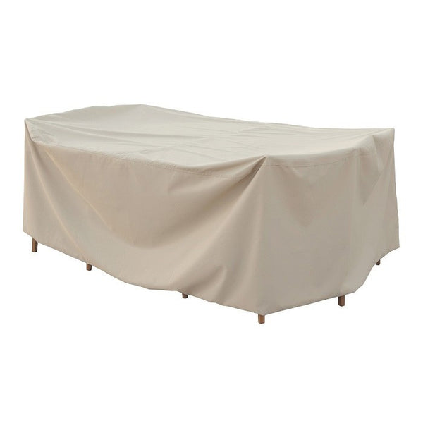 Fits all Small Oval/Rectangle Table & Chairs (No Hole) w/8 ties - Protective Furniture Covers - Skylar's Home and Patio