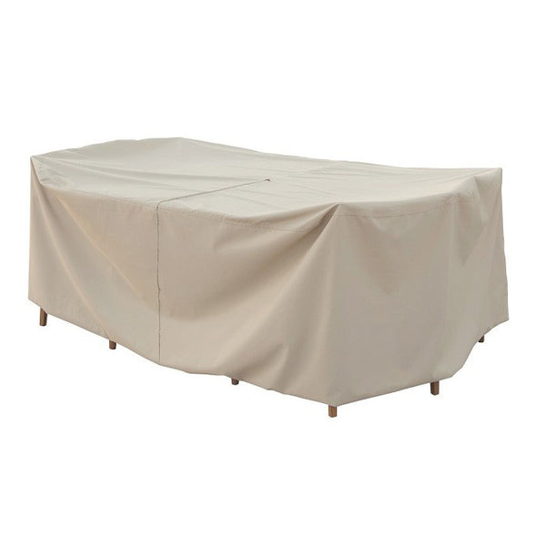 Fits Small Oval/Rectangle Table & Chairs w/8 ties & velcro closure - Protective Furniture Covers