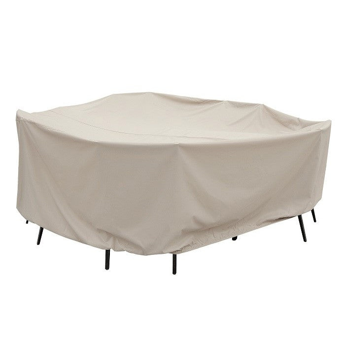 "60"" Round Table and Chairs with 8 ties (no center hole) - Protective Furniture Covers"