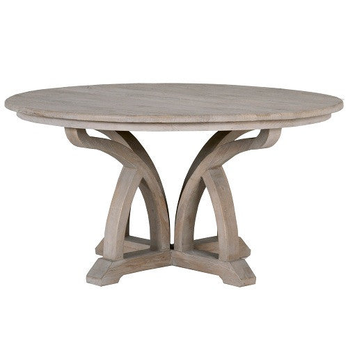 "Carnegie 60"" Round Dining Table - Skylar's Home and Patio"