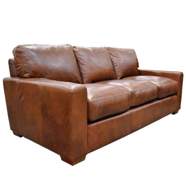 Max Leather Sofa - Skylar's Home and Patio