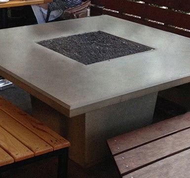 Cosmopolitan Square Dining Firetable - Skylar's Home and Patio