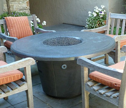Cosmopolitan Round Firetable - Skylar's Home and Patio