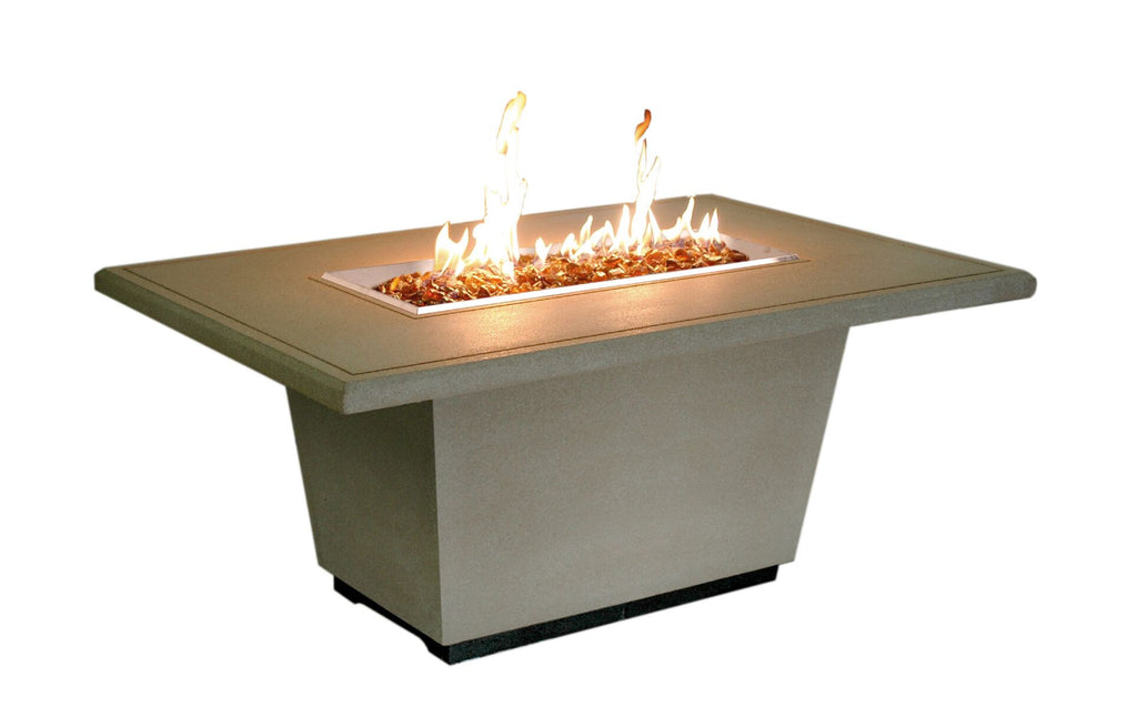 Cosmopolitan Rectangle Firetable - Skylar's Home and Patio