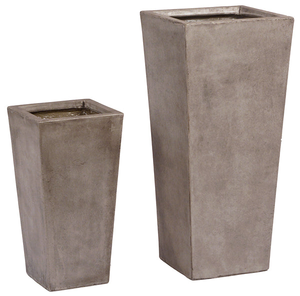 Tapered Planter Set Of 2 - Skylar's Home and Patio