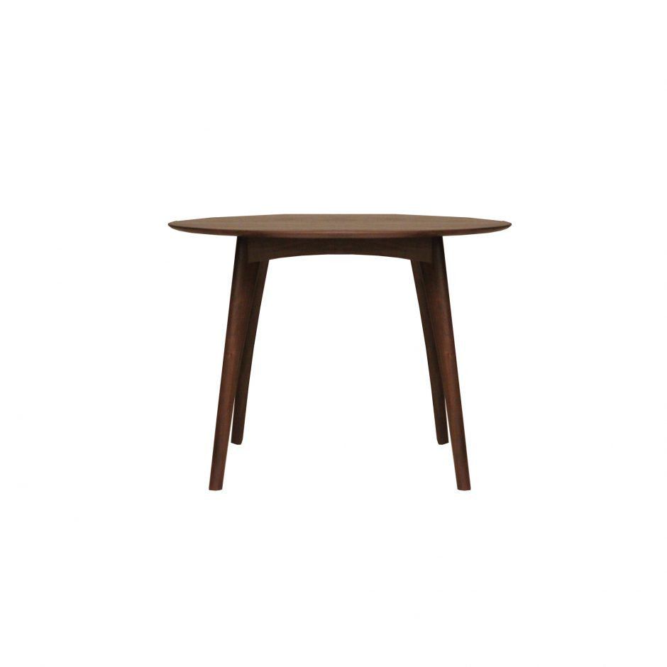 "Osso Round Counter Table Walnut 47"" - Skylar's Home and Patio"
