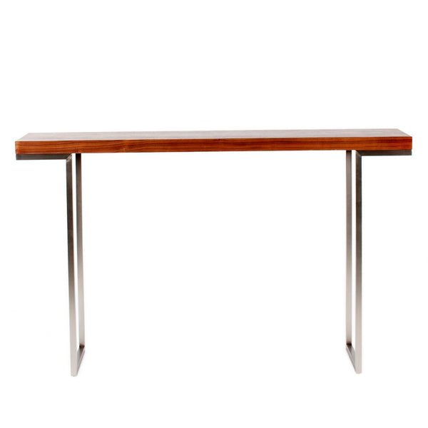 Repetir Console Table Walnut - Skylar's Home and Patio