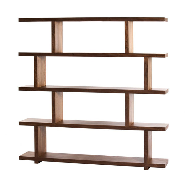 Miri Shelf Large Walnut - Skylar's Home and Patio