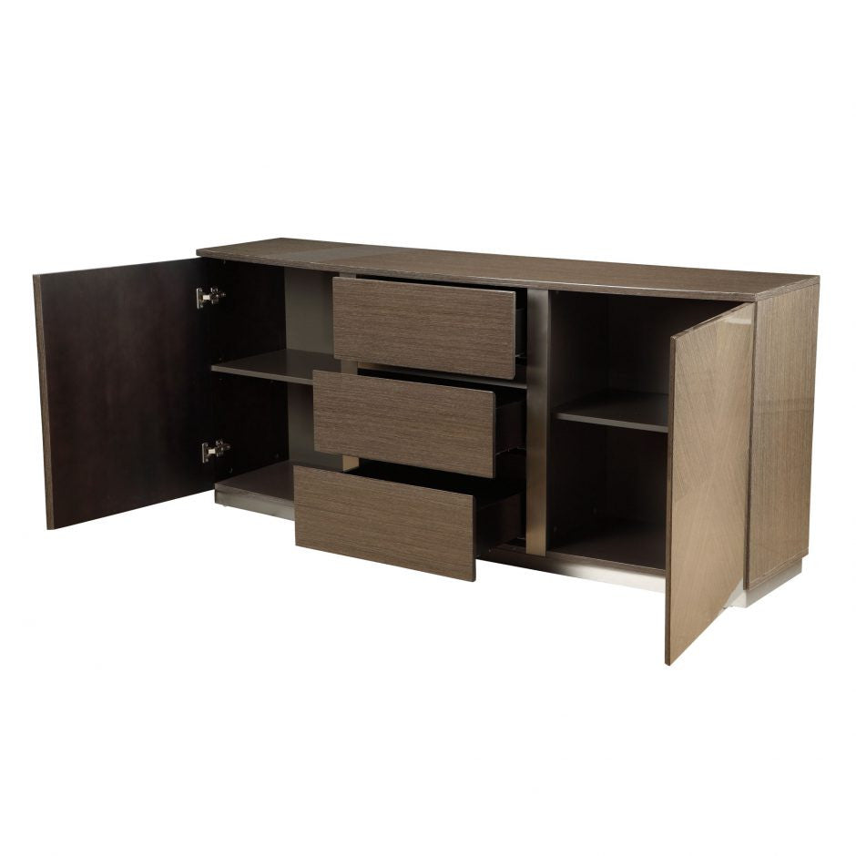 Timo Sideboard Brown - Skylar's Home and Patio