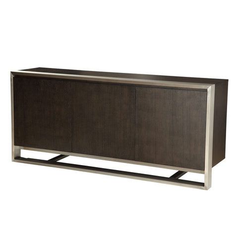 Vincent Sideboard Dark Brown - Skylar's Home and Patio