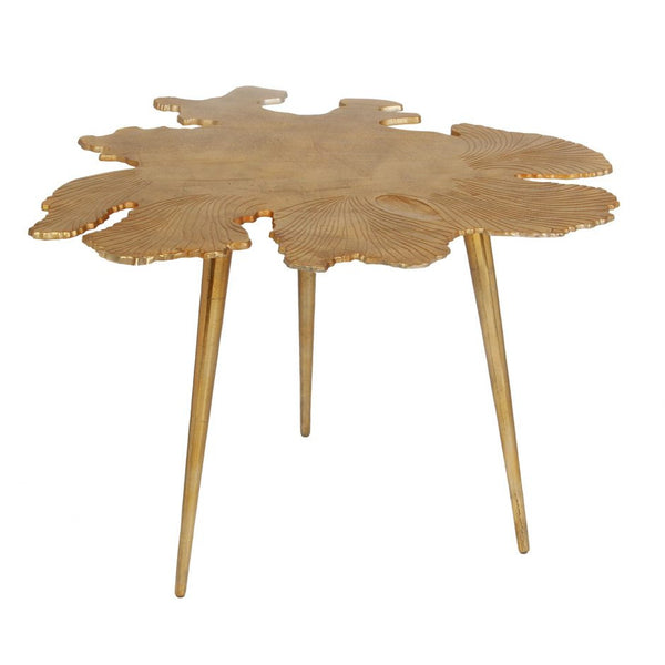 Amoeba Side Table Gold - Skylar's Home and Patio