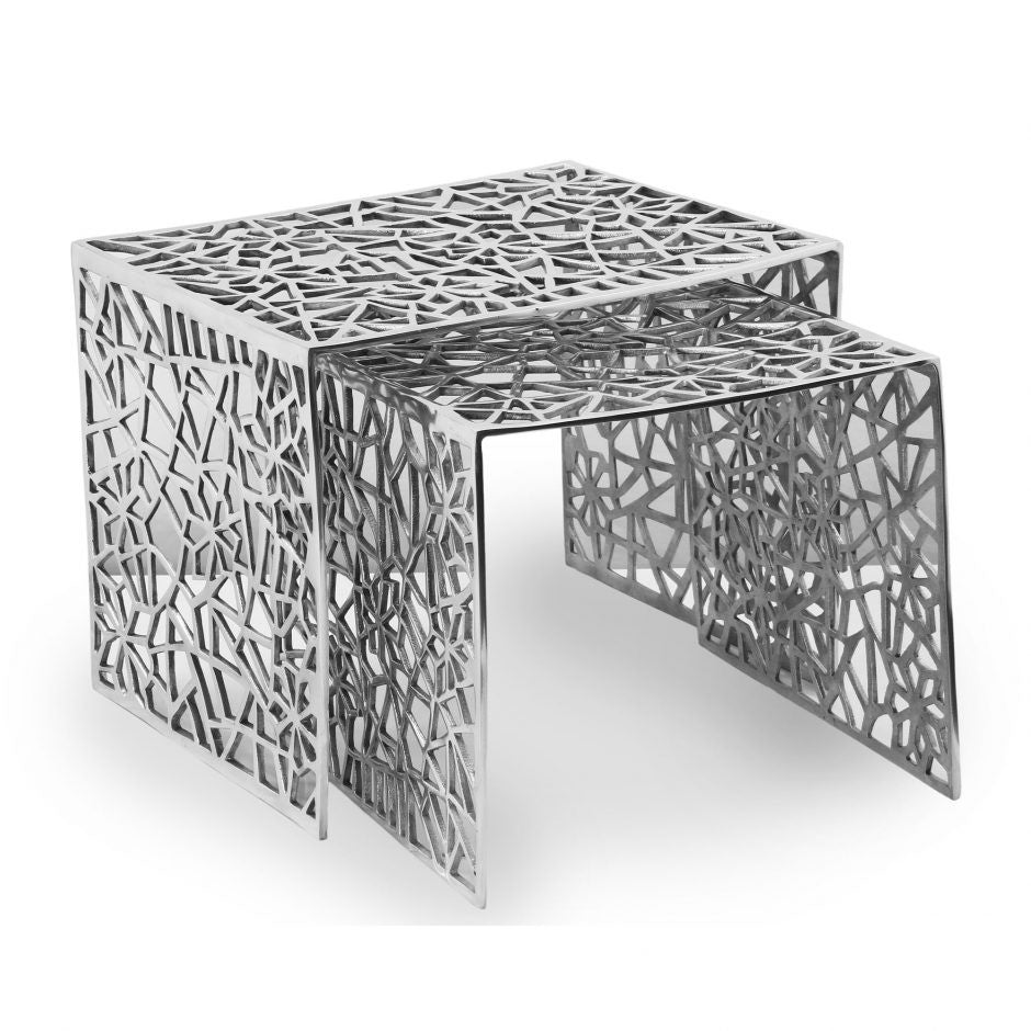 Parker Nesting Tables Set Of 2 - Skylar's Home and Patio