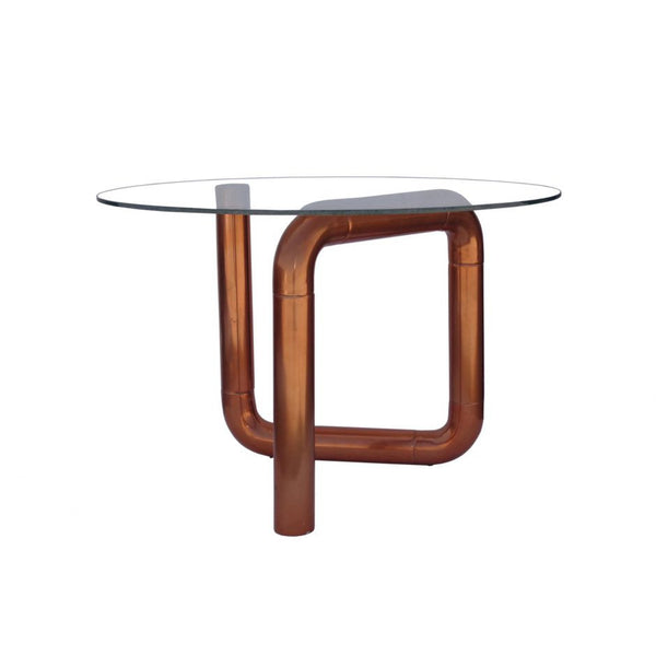 Boa Side Table Rose Gold
