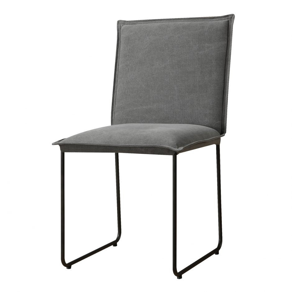 Flatiron Dining Chair Grey-M2 - Skylar's Home and Patio