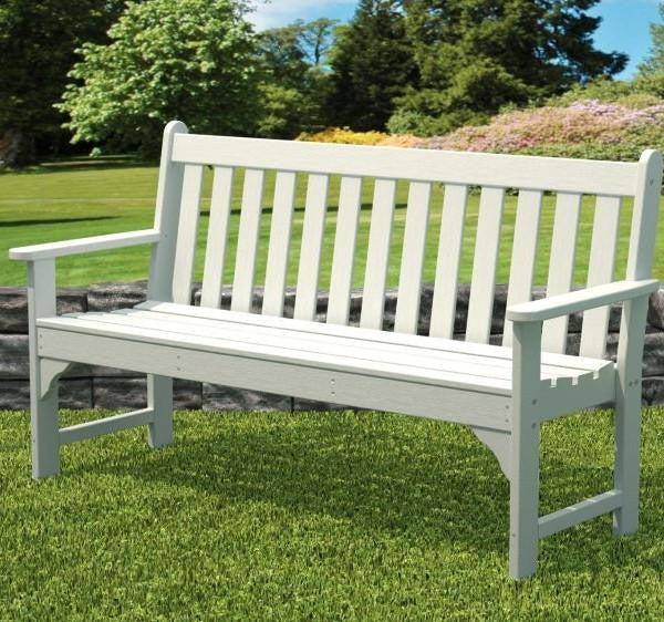 "Polywood 60"" Vineyard Bench - Skylar's Home and Patio"