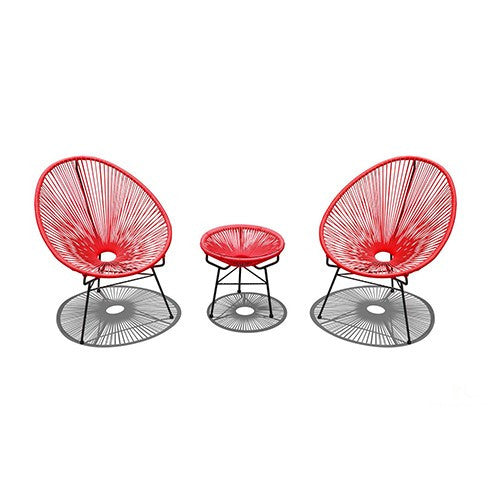 Acapulco Chat Set - California Patio Furniture - San Diego