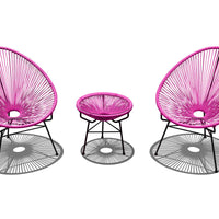 3 Pc. Acapulco Chat Set - Skylar's Home and Patio