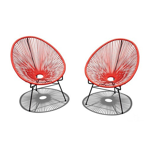 2 Pc. Acapulco Lounge Chair Set - Skylar's Home and Patio