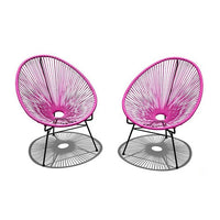 2 Pc. Acapulco Lounge Chair Set
