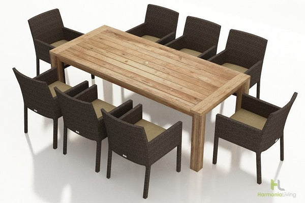 9 Pc. Arden Dining Set - Skylar's Home and Patio