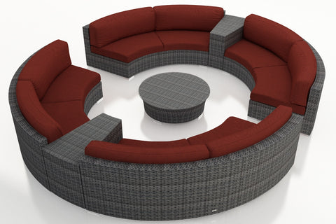 7 Pc. District Eclipse Sectional Set - Skylar's Home and Patio