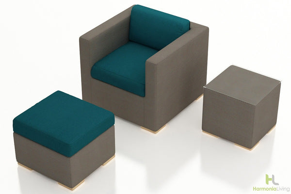 Element 3 Pc. Club Chair Set - Skylar's Home and Patio