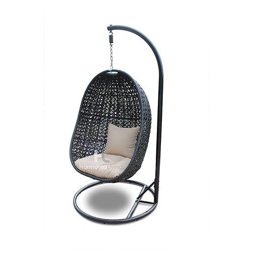 Nimbus Outdoor Hanging Chair and Stand - Skylar's Home and Patio