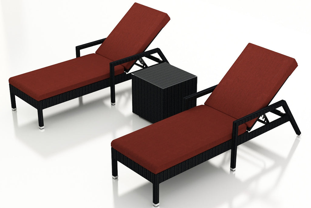 3 Pc. Urbana Chaise Lounge Set