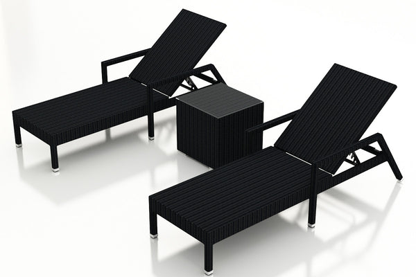 3 Pc. Urbana Chaise Lounge Set - Skylar's Home and Patio