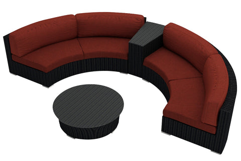 4 Pc. Urbana Eclipse Sectional Set - Skylar's Home and Patio