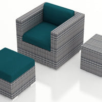 3 Pc. District Club Chair Set