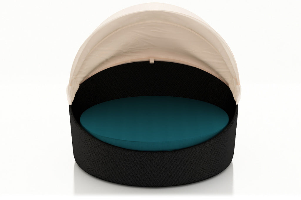 Wink Canopy Day Bed - Coffee Bean