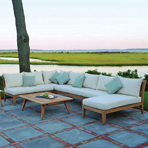 Ipanema Teak Sectional - Skylar's Home and Patio