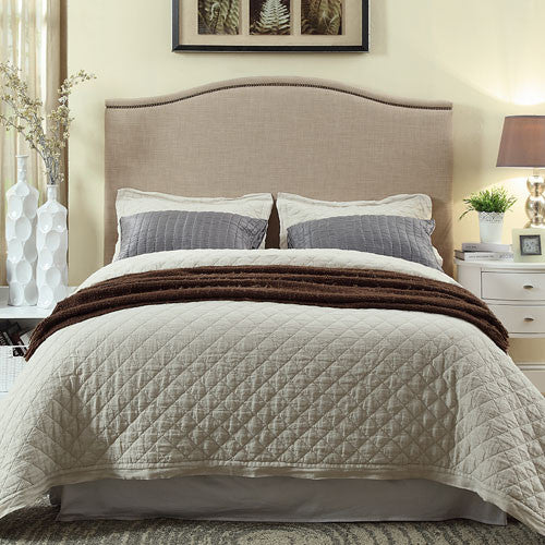 Jenna Upholstered Bed - Skylar's Home and Patio