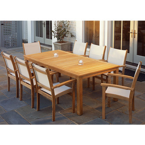 St.Tropez 9 pc Dining Set