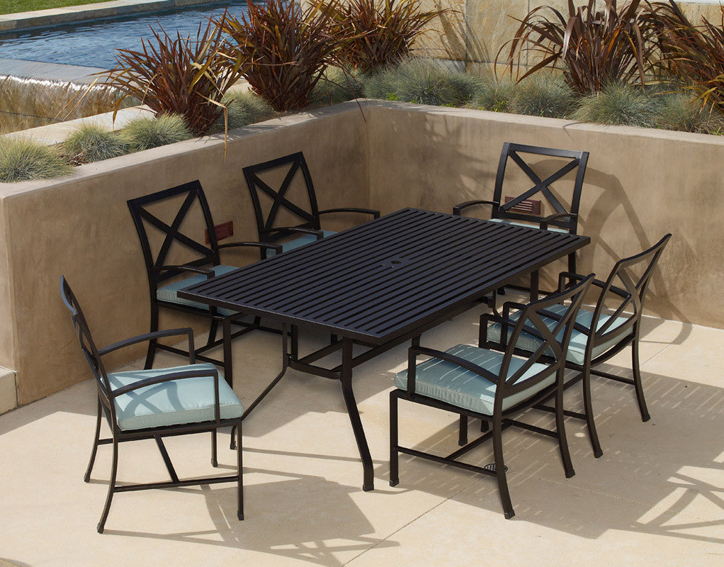 La Jolla 7pc. Dining Set - Skylar's Home and Patio