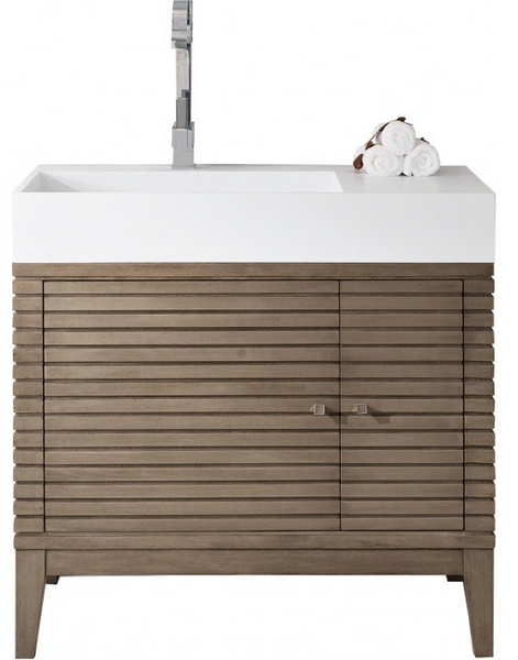 "Linear 36"" Single Vanity - Skylar's Home and Patio"