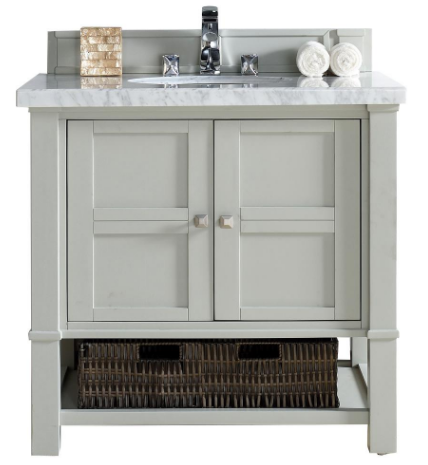 "Madison 36"" Single Vanity Cabinet - Skylar's Home and Patio"