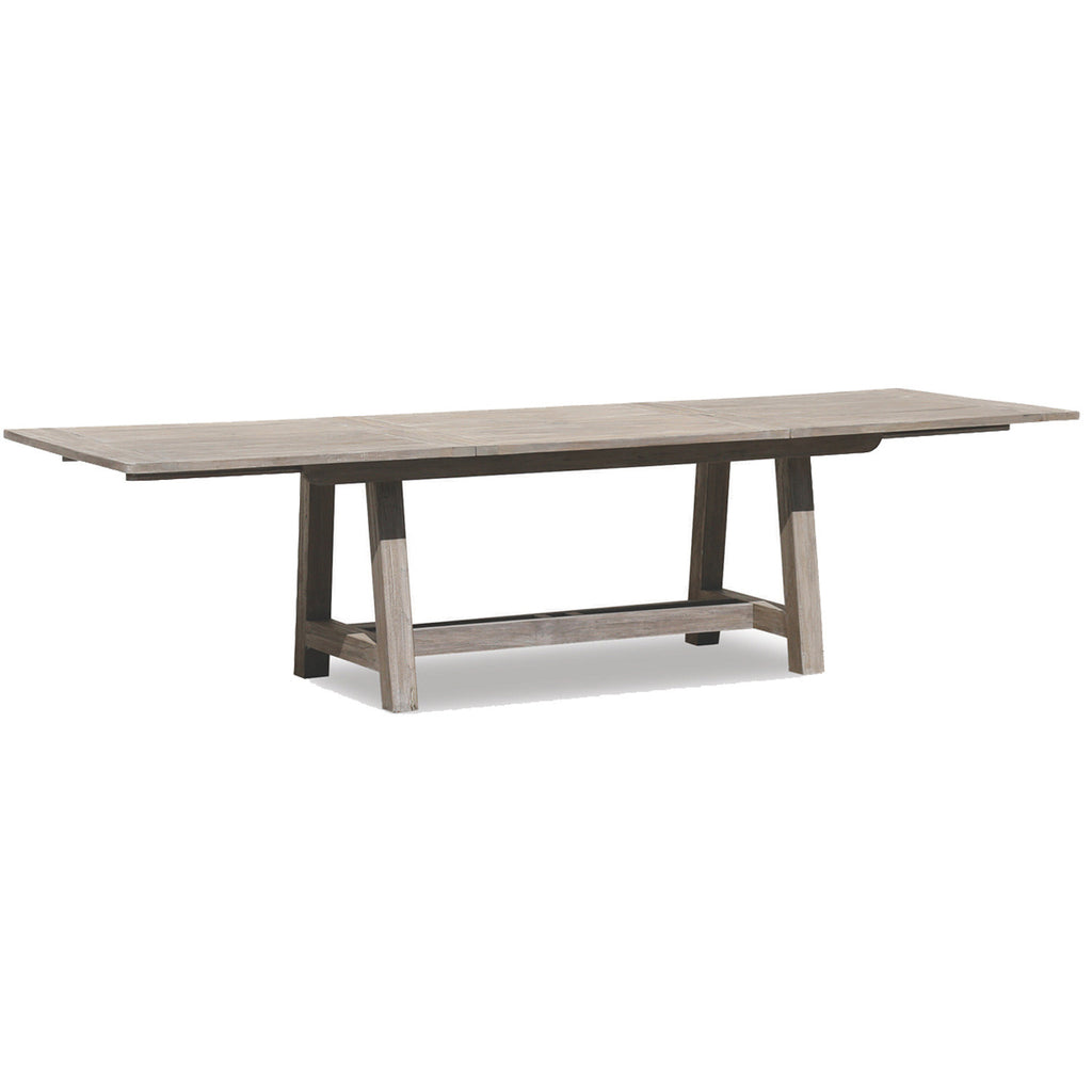 Teak Dining Table Skylars Home And Patio - Outdoor teak extension dining table
