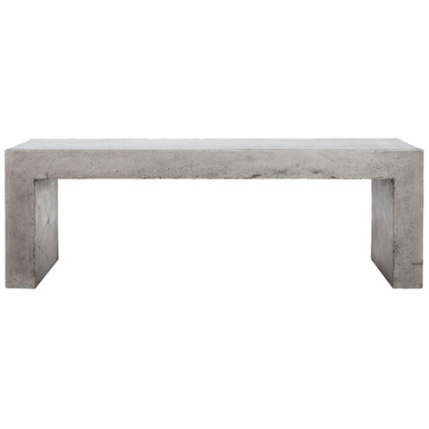 Mesa Concrete Dining Bench - Skylar's Home and Patio