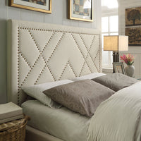 Mimi Upholstered Bed - Skylar's Home and Patio