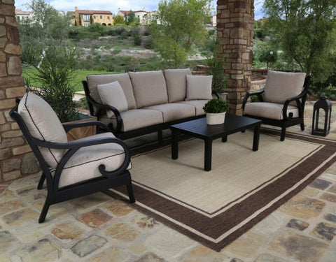 4pc. Monterey Sofa Set by Sunset West - Skylar's Home and Patio
