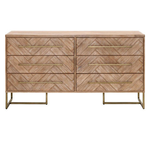 Mosaic Double Dresser - Skylar's Home and Patio