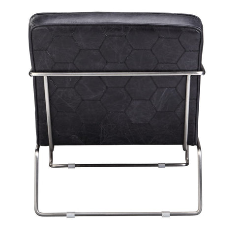 Desmond Club Chair - Black - Skylar's Home and Patio