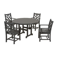 Polywood Chippendale 5pc. Dining Set - Skylar's Home and Patio